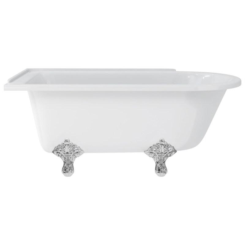 Burlington Hampton 150cm Left Handed Showering Bath