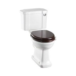 Burlington Regal Close Coupled Toilet with 44cm Push Button Cistern