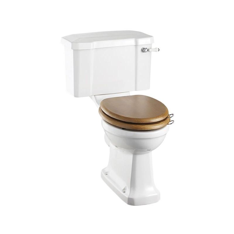 Burlington Standard Close Coupled Toilet with 51cm Lever Cistern