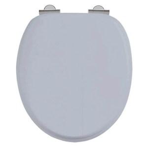 Burlington Classic Grey Soft Close Toilet Seat