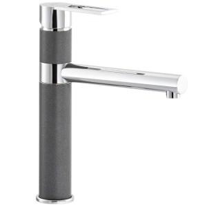 Carron Phoenix Reno Kitchen Sink Mixer Tap Stone Grey