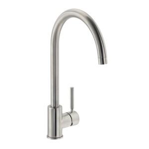Carron Phoenix Savoy Kitchen Sink Mixer Tap Brushed Nickel
