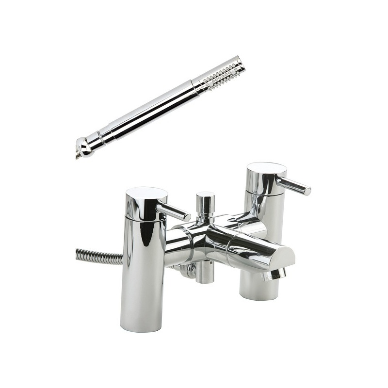 Cifial Technovation 465 2 Hole Deck Bath/Shower Mixer Chrome