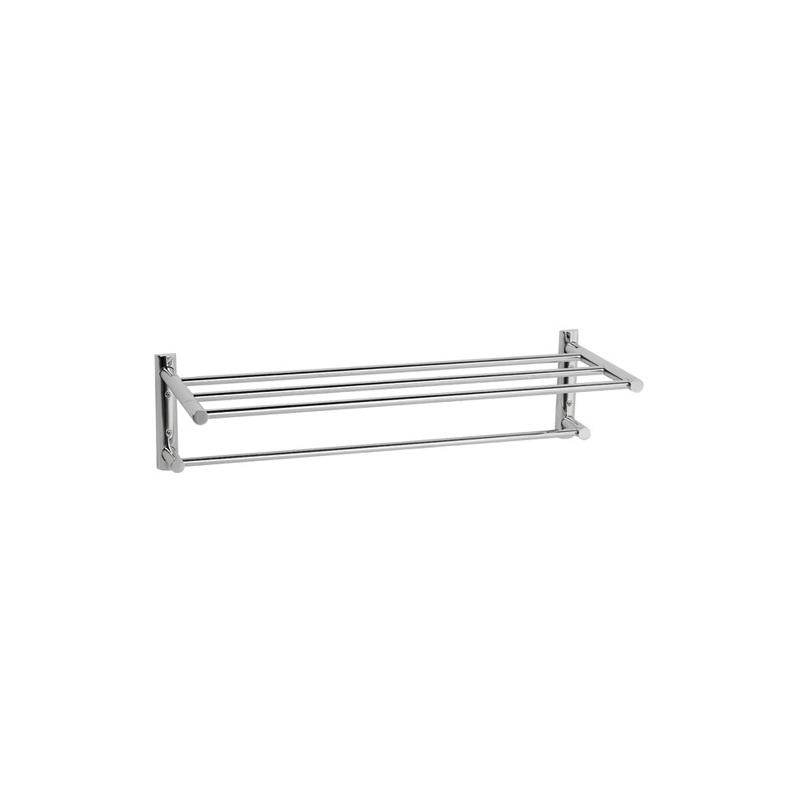 Cifial Straight Double Towel Rail 610mm Chrome