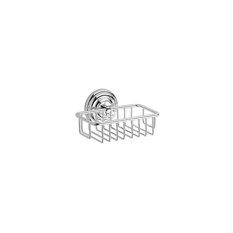 Cifial Edwardian Soap Basket Chrome