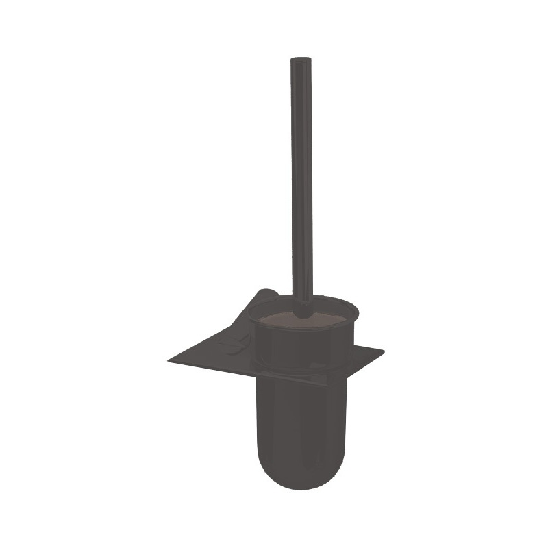 Cifial AR110 Wall Mounted Toilet Brush Set Matt Black