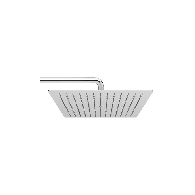 Cifial Ultra Slim Square 400mm Head Only Chrome