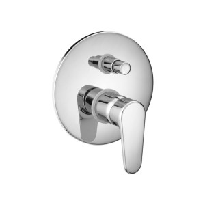 Cifial Viva Concealed Manual Bath/Shower Mixer Chrome
