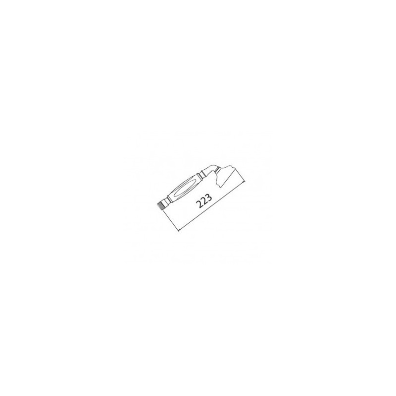 Cifial Traditional Flexi Shower Handset Chrome