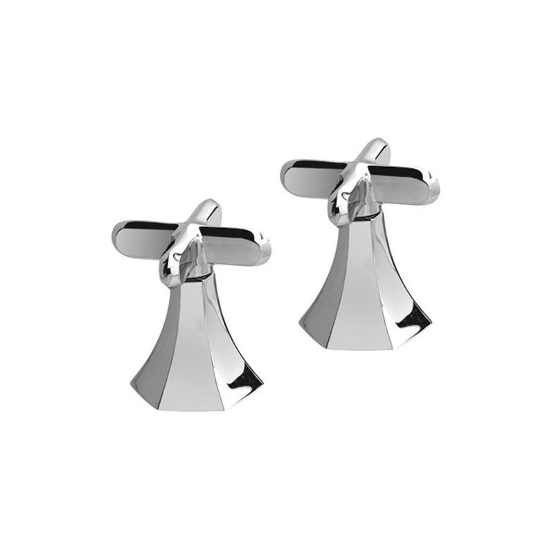"""Cifial Hexa Pair of 1/2"""" Deck Bath Valves Chrome"""