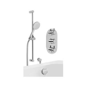 Cifial Technovation 35 Thermostatic Flexi/Bath Filler Kit