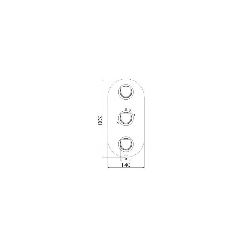 Cifial Emmie 3 Control Thermostatic Valve