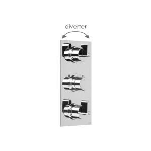 Cifial Technovation M3 3 Control Valve with Diverter Chrome