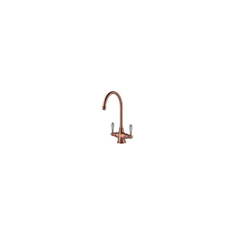 Clearwater Alrisha Mono Sink Mixer Brushed Copper