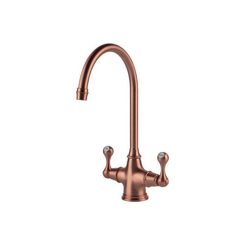 Clearwater Coriolis Mono Sink Mixer Brushed Copper