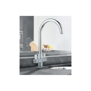 Clearwater Cherika Mono Sink Mixer with Swivel Spout Chrome