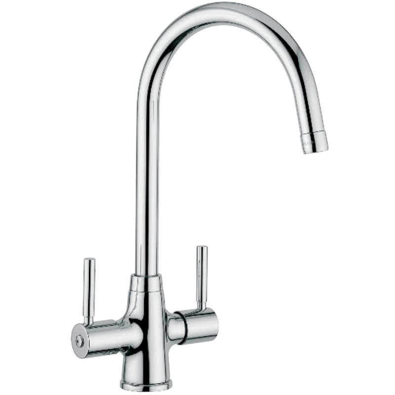 Clearwater Davenport Mono Sink Mixer with Swivel Spout Brushed