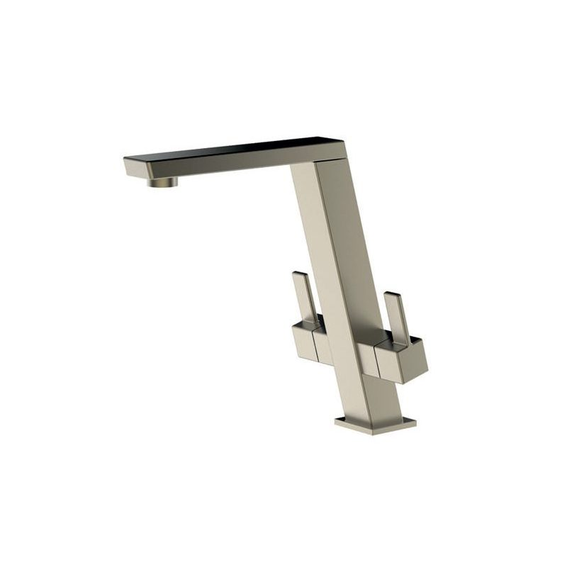 Clearwater Electra Sink Mixer with High Swivel Spout Brushed