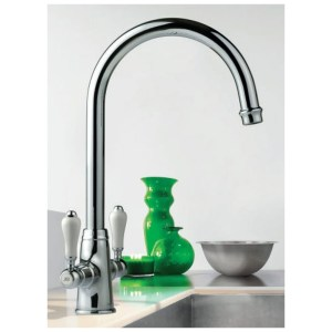 Clearwater Elegance Mono Sink Mixer with Swivel Spout Gold