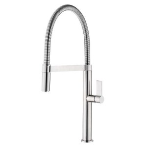 Clearwater Jovian Sink Mixer with Spring Spout Chrome