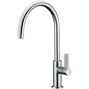Clearwater Jovian Sink Mixer with C Spout Chrome