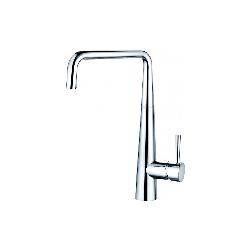Clearwater Porrima Single Lever U Spout Mono Sink Mixer Chrome