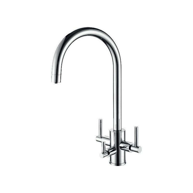 Clearwater Stella Mixer & Cold Filter Tap Brushed