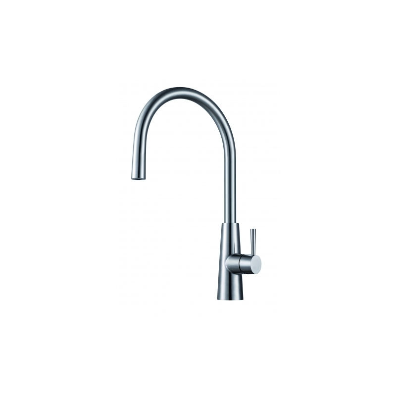 Clearwater Titania Mono Sink Mixer with Stainless Steel