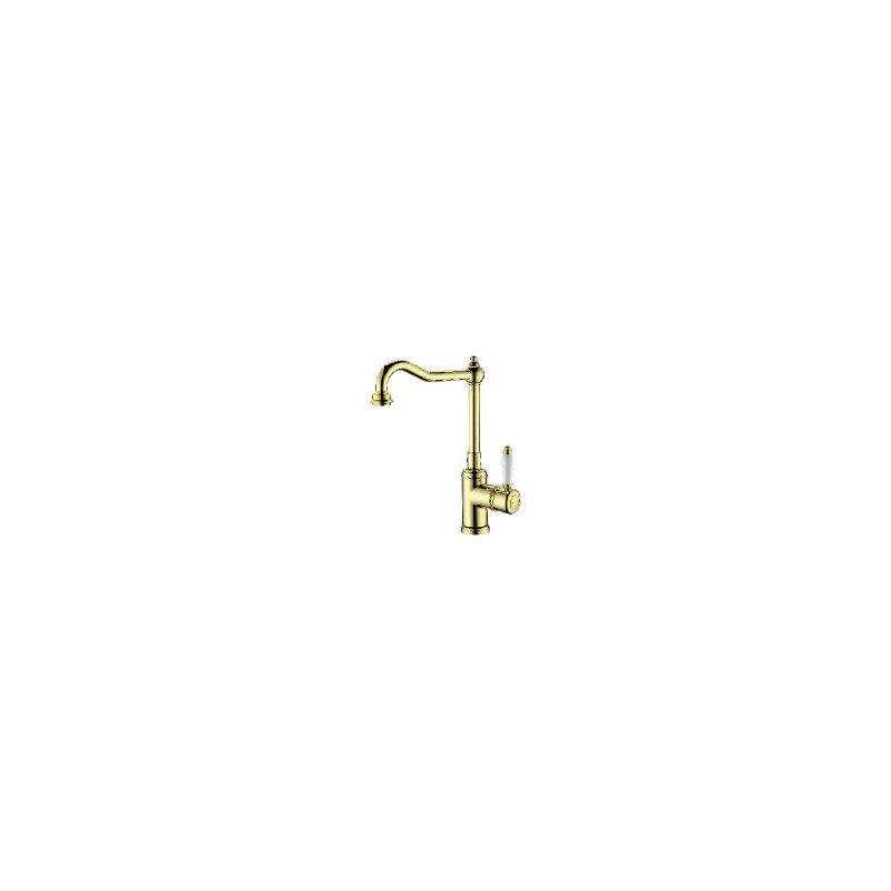 Clearwater Tiberius Mono Sink Mixer Gold