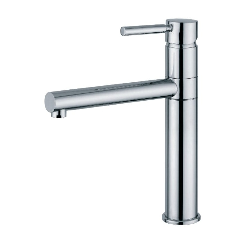 Clearwater Vegas Mono Sink Mixer with Swivel Spout Brushed