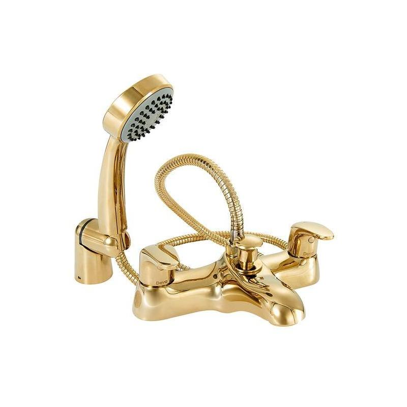 Deva Adore Bath Shower Mixer Gold