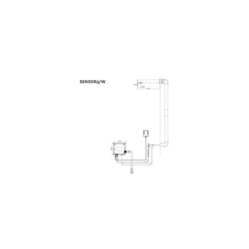 Deva Electronic Sensor Tap 9/W
