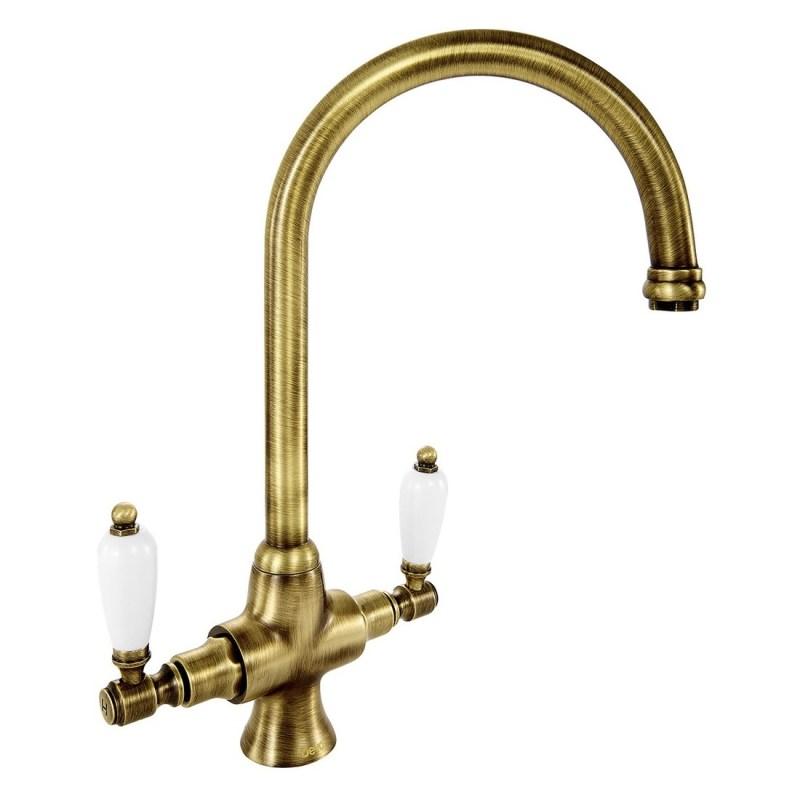 Deva Georgian Mono Sink Mixer Bronze