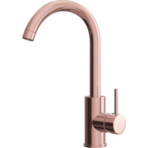 Ellsi Giona Kitchen Sink Mixer with Swivel Spout Copper