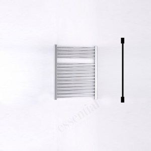 Essential Standard Towel Warmer Straight 690x600mm Chrome
