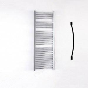 Essential Standard Towel Warmer Curved 1430x500mm Chrome