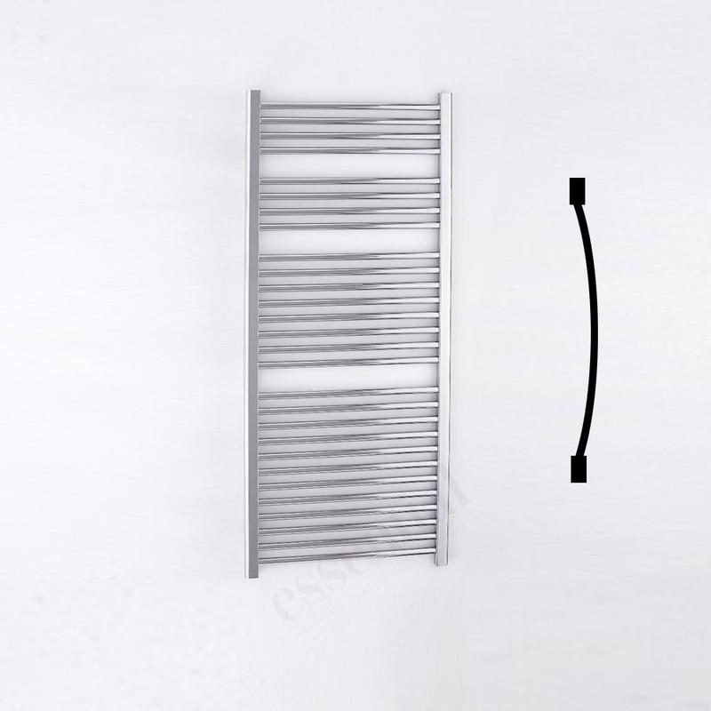 Essential Standard Towel Warmer Curved 1430x600mm Chrome