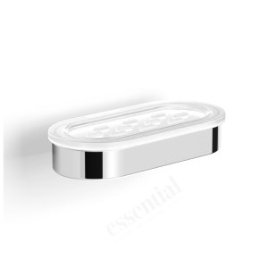 Essentials Urban Soap Dish Holder with Elongated Dish