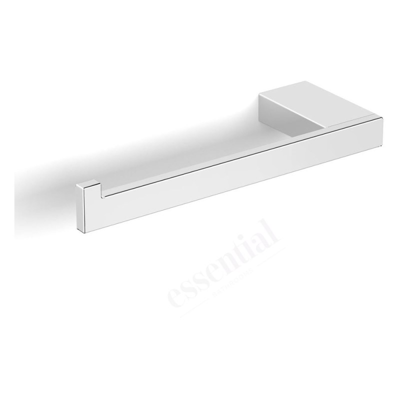 Essentials Urban Square Toilet Roll Holder without Cover Left