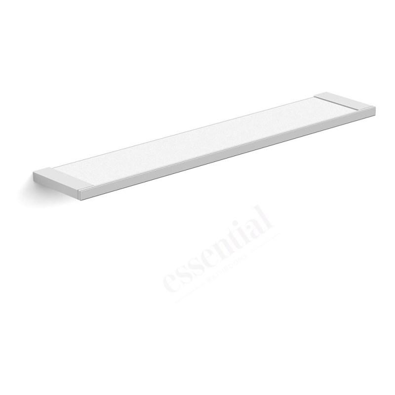 Essentials Urban Square Glass Shelf 600mm
