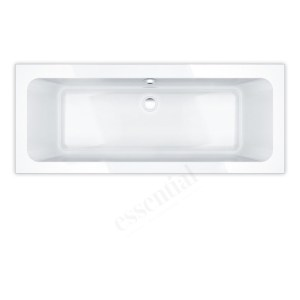 Essential Islington Rectangular Bath 1700x750mm 0 Tap Holes