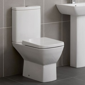 Essential Jasmine Close Coupled Pan, Cistern & Soft Close Seat