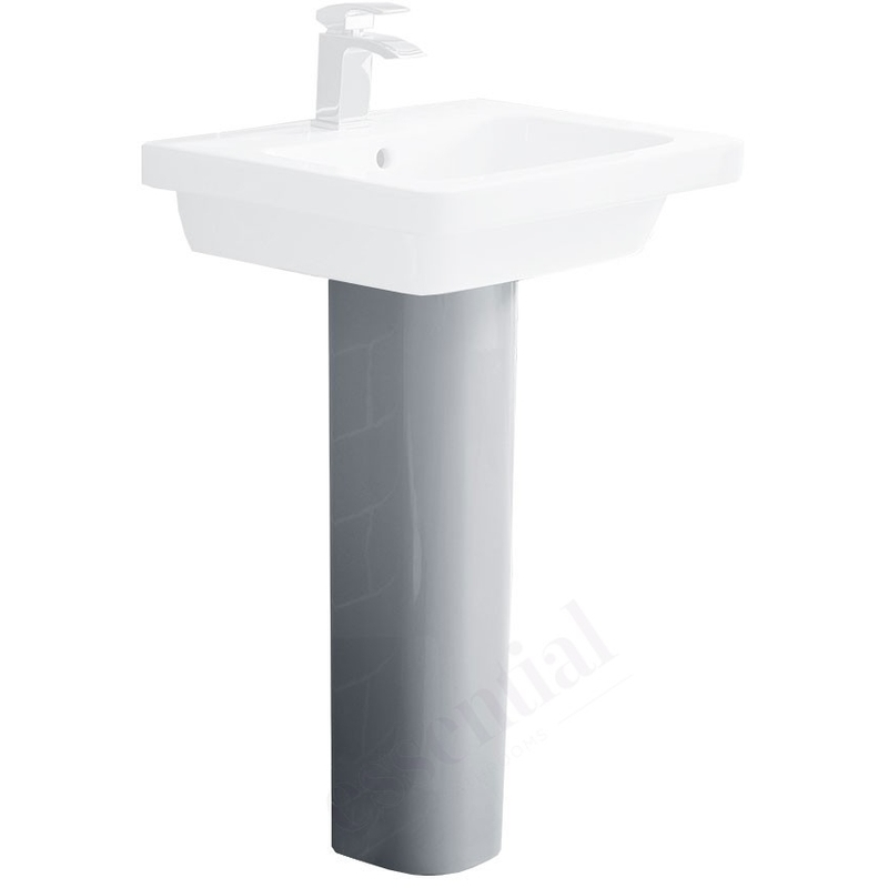 Essential Ivy Full Pedestal Only White