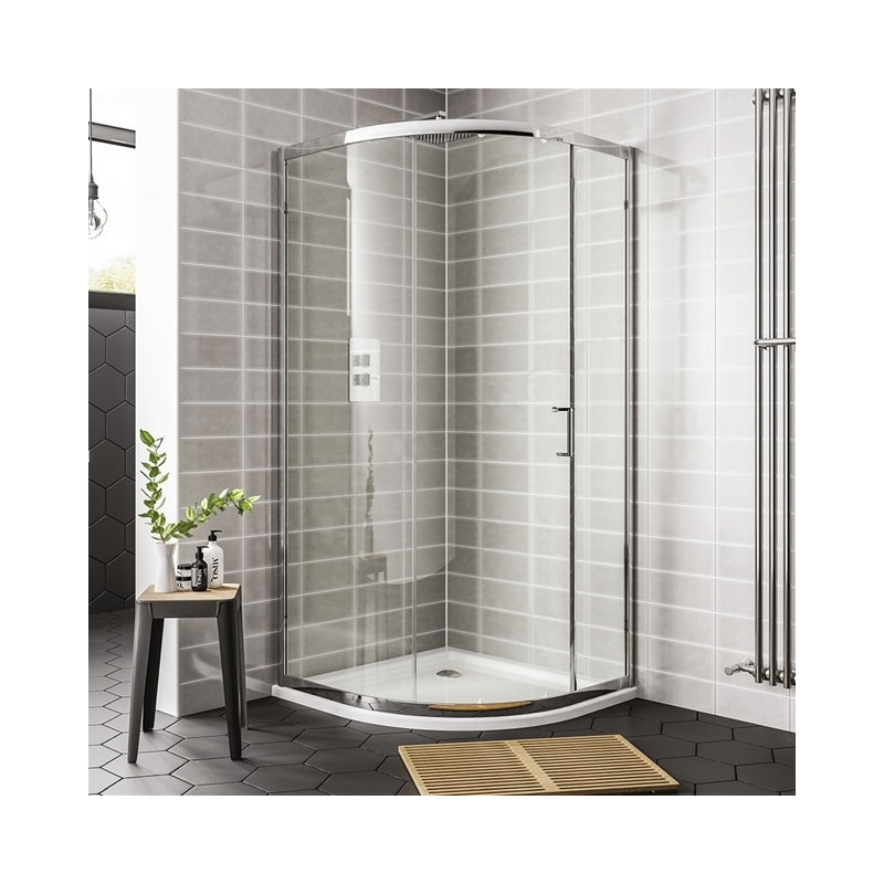 Essential Spring 1200x900mm Offset Quadrant Enclosure 2 Doors
