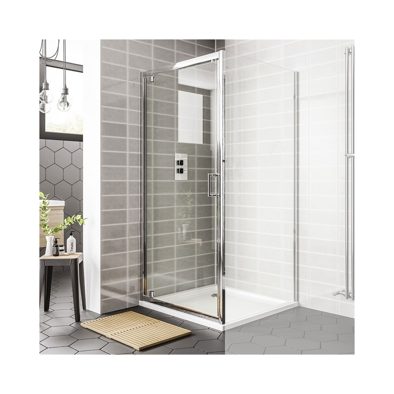 Essential Spring Bi-Fold Shower Door 760mm