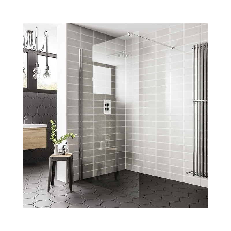 Essential Spring 1100mm Wetroom Panel