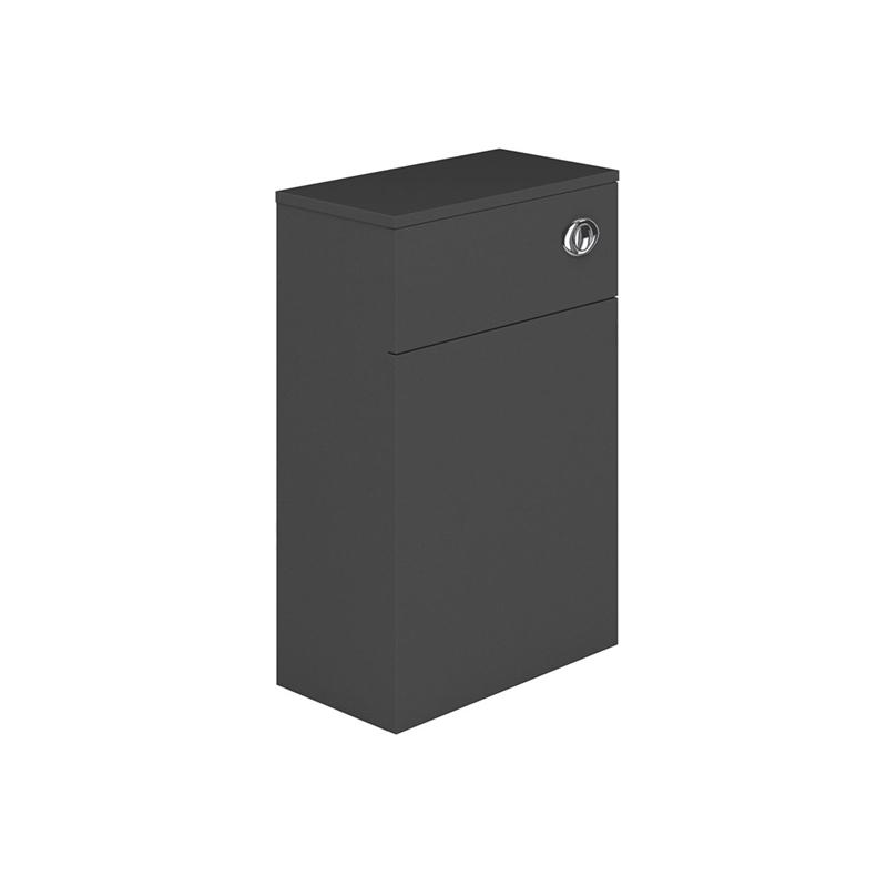 Essential Nevada WC Unit 500mm Wide x 200mm Deep Grey