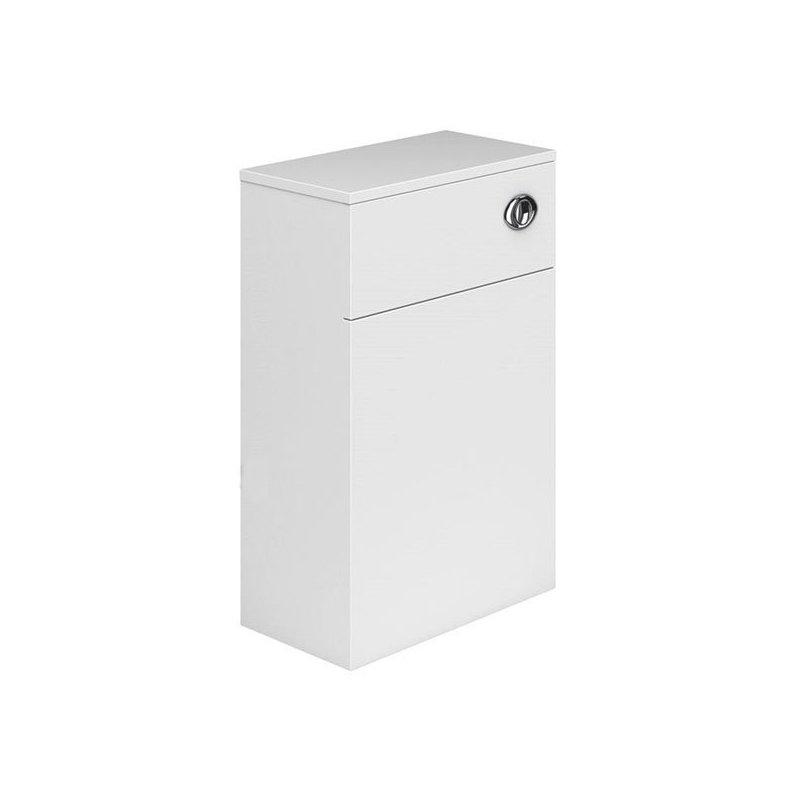 Essential Nevada WC Unit 500mm Wide x 200mm Deep White