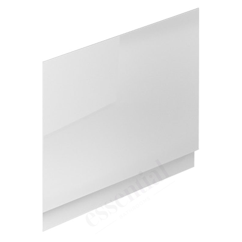 Essential Nevada MDF End Bath Panel 800mm White
