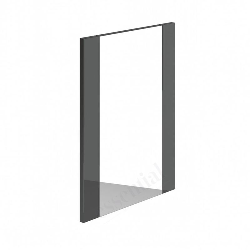 Essential Nevada Bathroom Mirror 450x600mm Grey